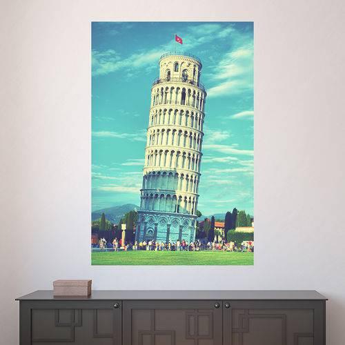 Painel Adesivo de Parede - Torre de Pisa - N2564