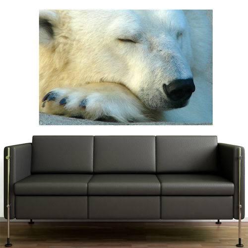 Painel Adesivo de Parede - Urso Polar - N1215