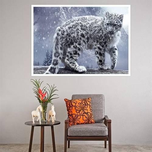 Painel Adesivo para Parede Leopardo