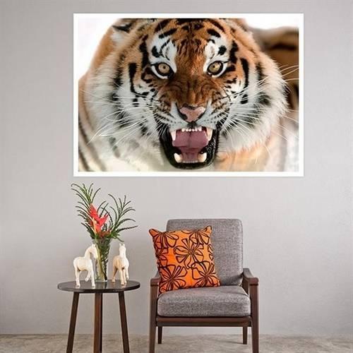 Painel Adesivo para Parede Tigre
