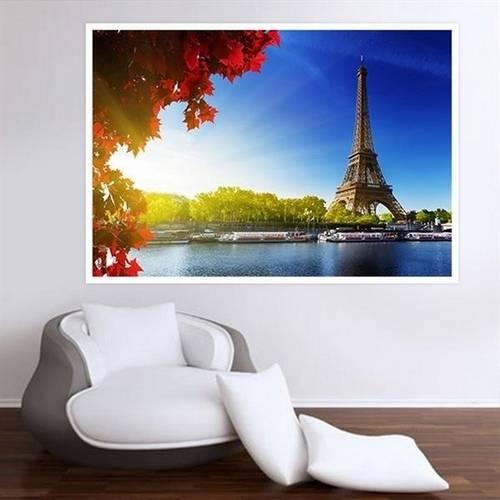 Painel Adesivo para Parede Torre Eiffel