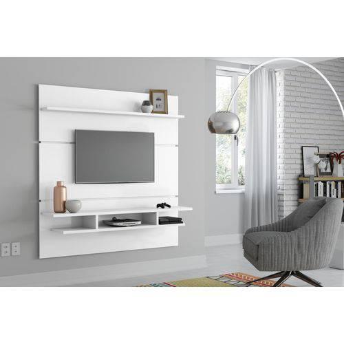 Painel Adryan Branco Brilhante - Patrimar Móveis
