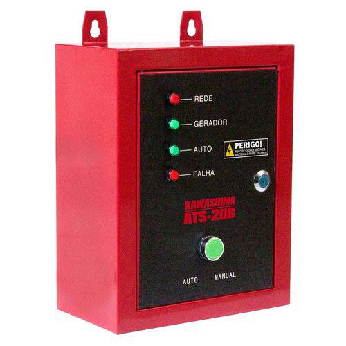 Painel Automático para Geradores Diesel Ats Kw6d Monofasico 220v Kawashima