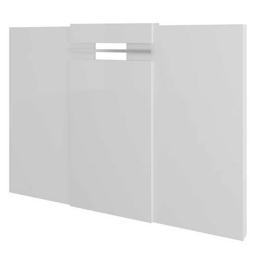 Painel Cabeceira Box Carraro Elegance - 1019 - Cor Branco