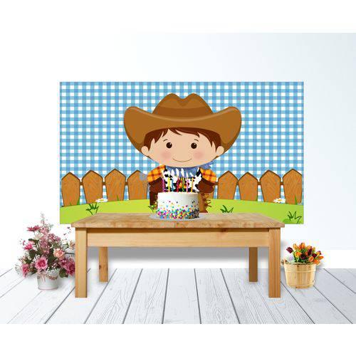 Painel de Festa Cowboy 01