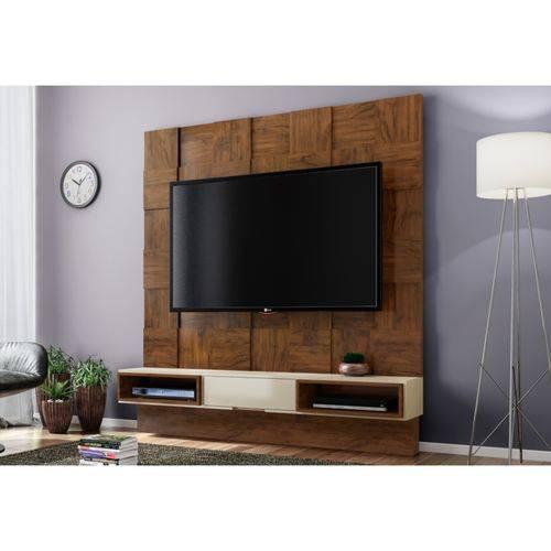 Painel Home Suspenso para Tv Tb125 Nobre/off White - Dalla Costa