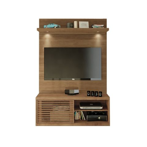 Painel Imperador para TV de Até 50'' com LED + Bancada Frizz - Buriti