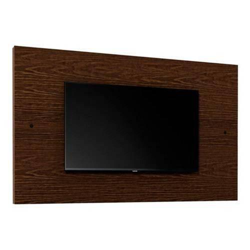 Painel para Tv 42 Polegadas Prata Castanho Rustic