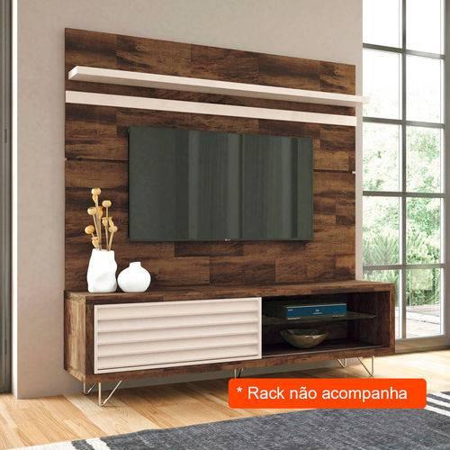 Painel para Tv 70 Polegadas Venezza Deck e Off White 180 Cm