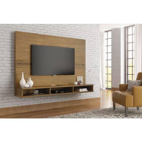Painel para TV Coral Naturale Rústico - RV Móveis