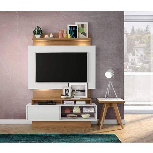 Painel para Tv TB111L Branco Brilho Off-White / Freijo Dalla Costa