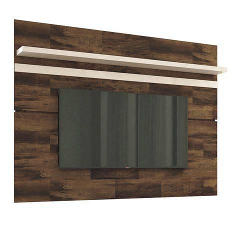 Painel para Tv Venezza Deck/off White Hb Móveis