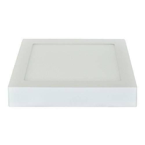 Painel Plafon Led Sobrepor 25w 30x30 Quadrado Branco Frio Bivolt