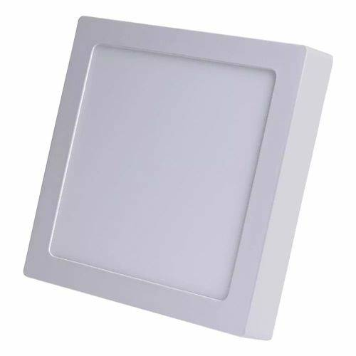 Painel Plafon Led Sobrepor Quadrado 18w Branco Frio 6000k