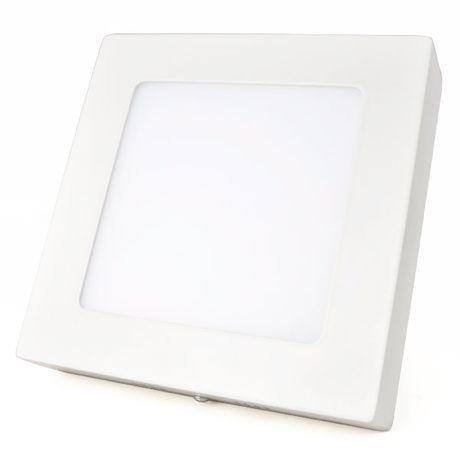 Painel Plafon Smart Led Sobrepor 6w Branco Frio