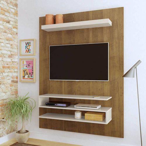 Painel Suspenso Artely Orion Tv Até 47 Pol Pinho/off White