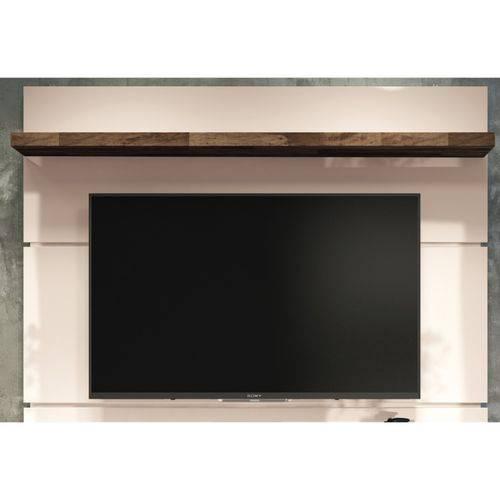 Painel Suspenso com Bancada Livin 1.6 Off White/deck - Hb Móveis