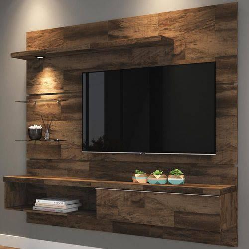 Painel Tv 55'' 1.8 Ores 1 Porta 9353 Deck - Hb Móveis