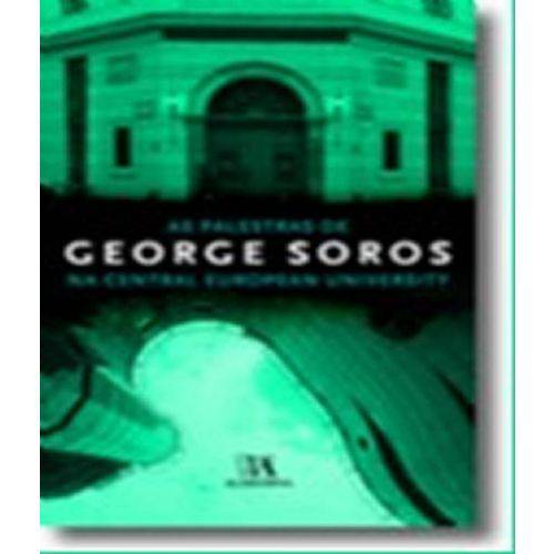 Palestras de George Soros - na Central European University