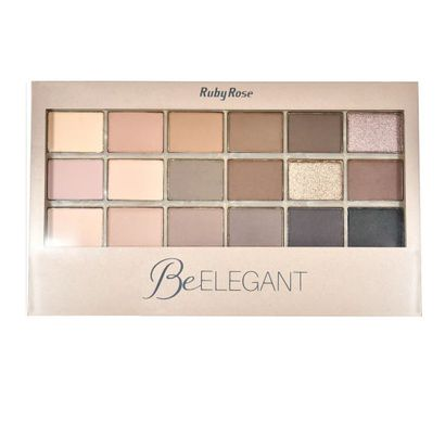 Paleta de Sombras Be Elegant 9933 - Ruby Rose