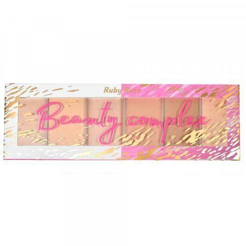 Paleta Ruby Rose Beauty Complex Light & Dark- Hb7518