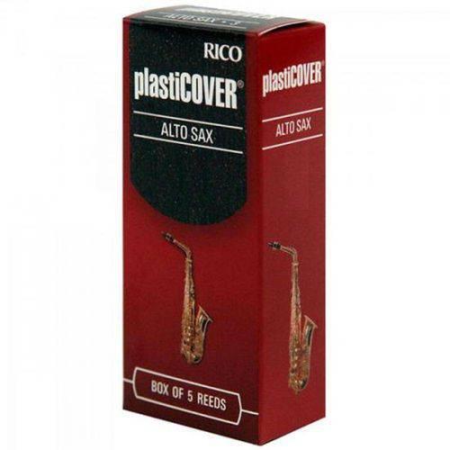 Palheta para Saxofone Alto 2,5 Plasticover - Caixa C/ 5 Unidades