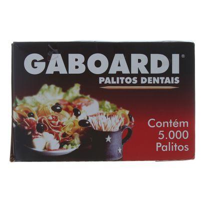 Palito de Dente Caixa com 5000 Unidades Gaboardi