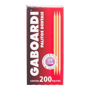 Palito de Dente Gaboardi com 200 Unidades