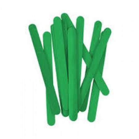 Palito de Sorvete Verde