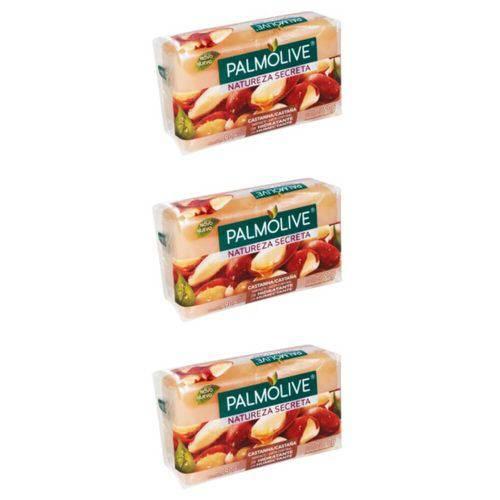 Palmolive Castanha Sabonete 85g (kit C/03)