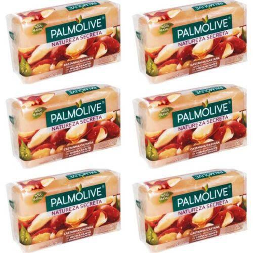 Palmolive Castanha Sabonete 85g (kit C/06)