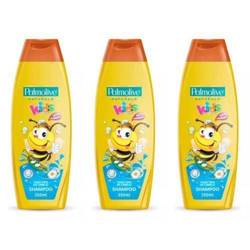 Palmolive Kids Todos Cabelos Shampoo Infantil 350ml (kit C/03)