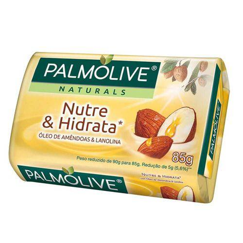 Palmolive Naturals Nutre e Hidrata Sabonete Lanolina 85g