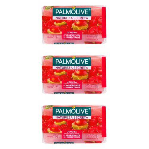 Palmolive Ucuuba Sabonete 85g (kit C/03)