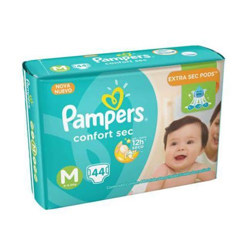Pampers Comfort Sec Fralda Infantil M C/44