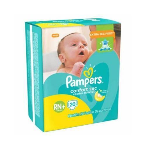 Pampers Comfort Sec Fralda Infantil Rn C/20