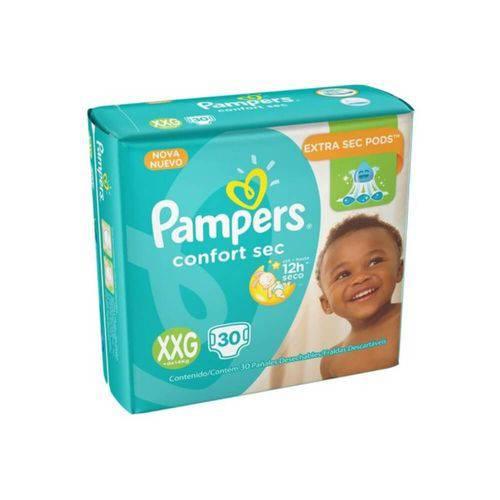 Pampers Comfort Sec Fralda Infantil Xxg C/30