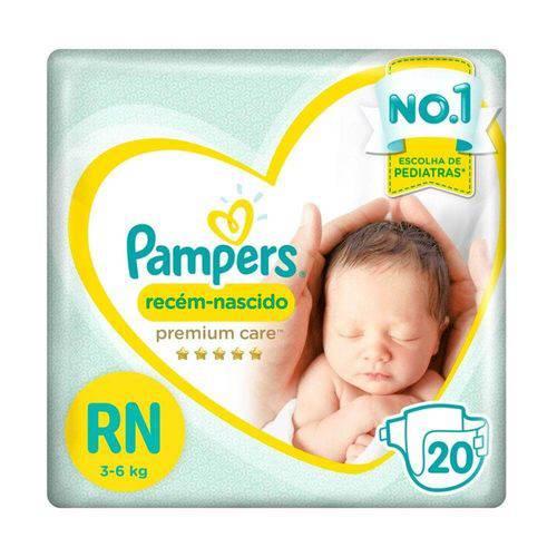 Pampers Premium Care Fralda Infantil Rn C/20
