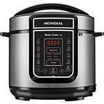 Panela de Pressão Elétrica Digital Mondial Master Cooker 5L Preta - 900W