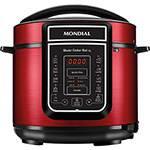 Panela de Pressão Elétrica Mondial Digital Master Cooker 5L Vermelha - 900W