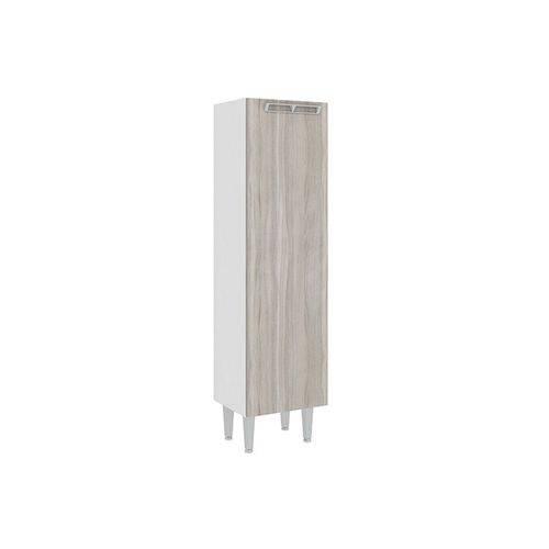 Paneleiro Art In Móveis CZ700 1 Porta - Cor Branco C/ Fresno