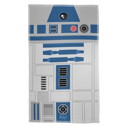Pano de Prato Geek Side Faces - R2