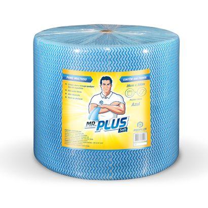 Pano Multiuso Azul Rolo com 28 X 300m Mr. Plus