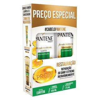 Pantene Restrauração Kit - Shampoo + Condicionador Kit
