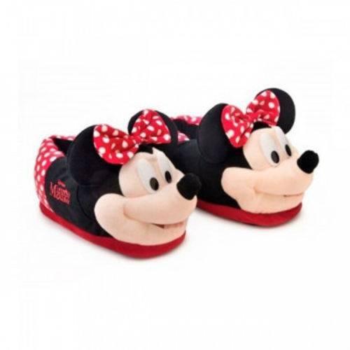 Pantufa 3d Minnie Mouse Original Ricsen 31/33