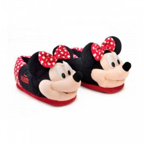 Pantufa 3d Minnie Mouse Original Ricsen 28/30