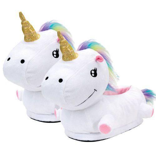 Pantufa Unicornio 3d 40/42 Ricsen