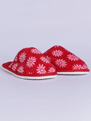 Pantufa Feminina Vermelho