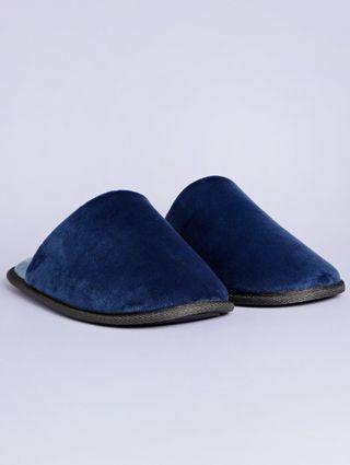 Pantufa Masculina Azul Marinho