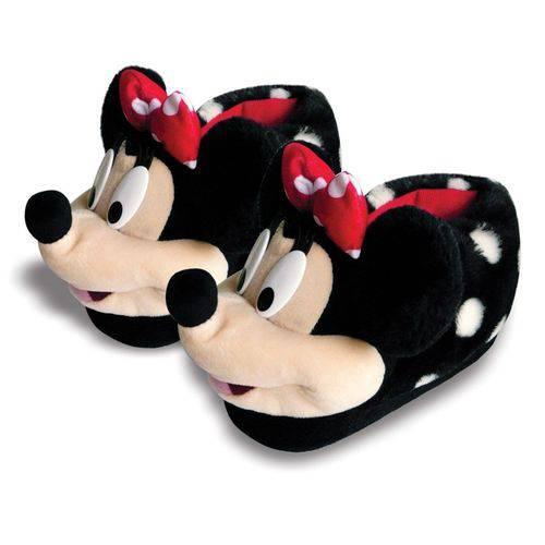 Pantufa Minnie 3D Clássica 34/36